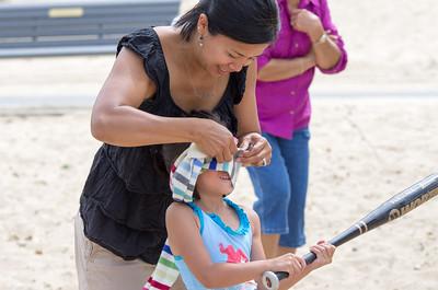 Girls Birthday on the beach 2014