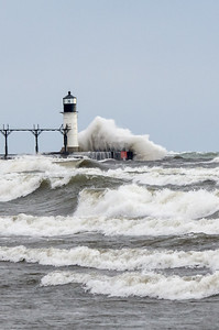 Waves and Fall in Michigan
